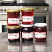 confiture fruits rouges normandie