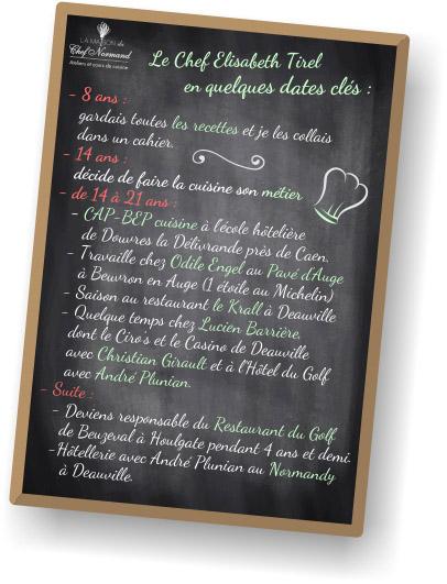 parcours chef gastronomique normand ateliers culinaires calvados